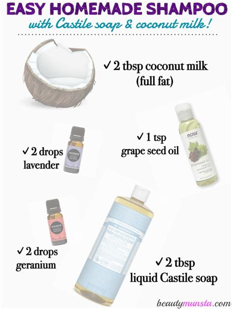 How to Make Homemade Shampoo and Conditioner   2-in-1