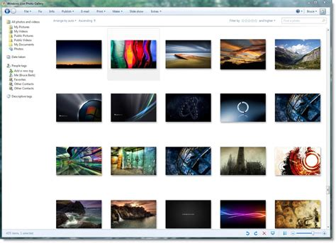 Sending Photos Online With Windows Live Photo Gallery