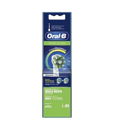 Buy Oral B - Replacement for electric toothbrush Cross