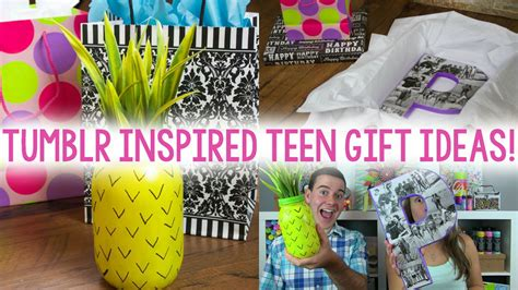 DIY Teen Gift Ideas | TUMBLR INSPIRED - A Little Craft In