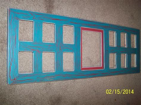 13 window Collage Picture Frame School Years