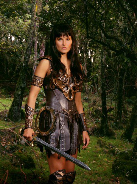 Warrior Princess! Lucy Lawless as Xena
