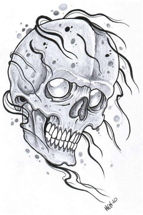 afrenchieforyourthoughts: skulls tattoos drawings