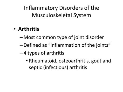 PPT - Inflammatory Disorders PowerPoint Presentation, free