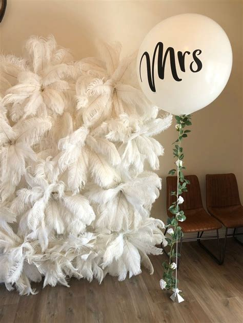 Feather Backdrop For Weddings & Events