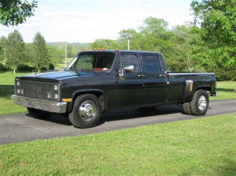 Find used 1987 Chevrolet Crew Cab Dually 468 Pro-Street