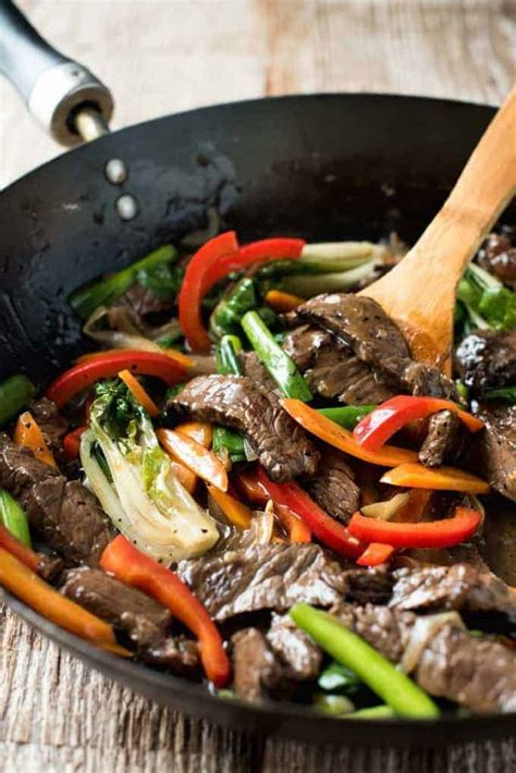 Easy Classic Chinese Beef Stir Fry   RecipeTin Eats