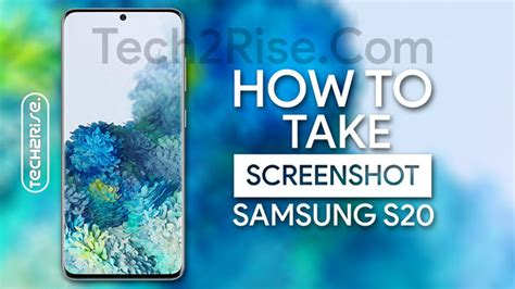 How To Take Screenshot In Samsung Galaxy S20 {Easy Five