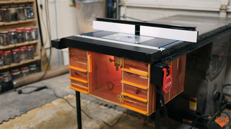 Router Table & Storage Cabinet 46   Jackman Works