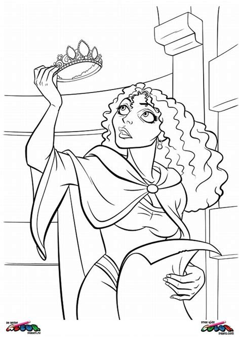 Tangled0014 - Printable coloring pages