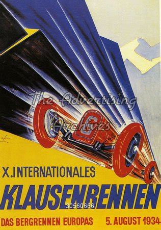 The Advertising Archives | Poster | Racing Cars | 1930s