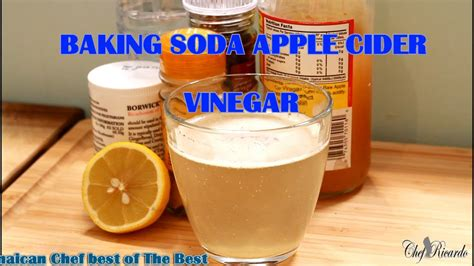 Drinking! Baking Soda And Apple Vinegar For Weight Loss on