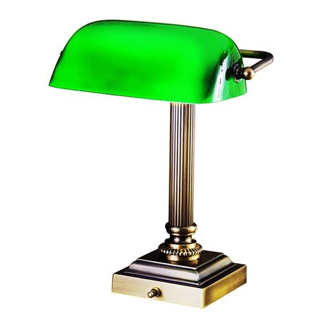 House Of Troy DSK428-G71 Bankers Lamp - SearchLighting
