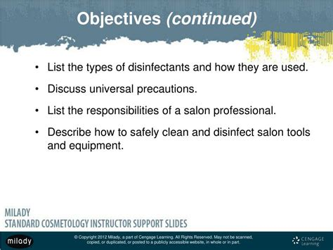 PPT - Chapter 5 Infection Control: Principles and