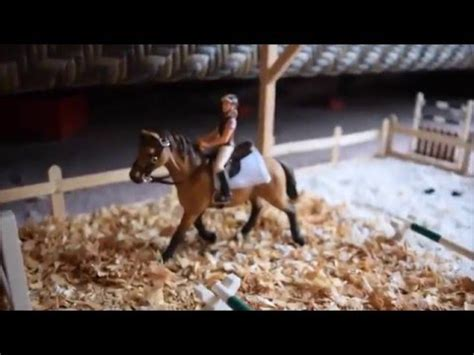 Schleich barn tour January 2016 Silver Star Stables part 1