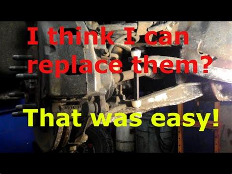 How to replace the sway bar links on a Chevy Tahoe - YouTube