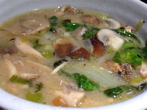 Chicken Coconut Soup   Cooking with Leftovers   When you