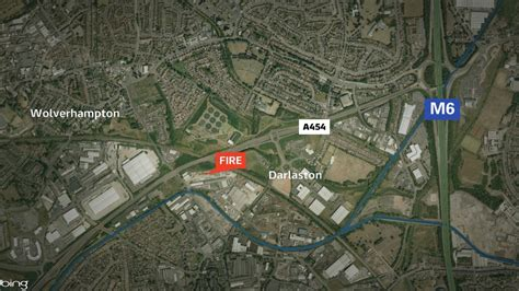 Darlaston fire: loud explosions heard at recycling plant