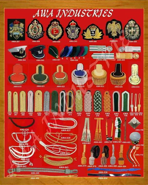 All Kind Of Hand Embroidery Badges & All Kind Of Uniform