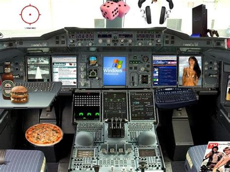 New A320 Airbus cockpit design (humorously) | ZDNet