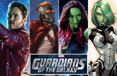 """Get the cosplay styles of the incredible """"Guardians"""
