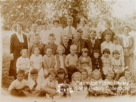 Plainedge school, dated about 1921